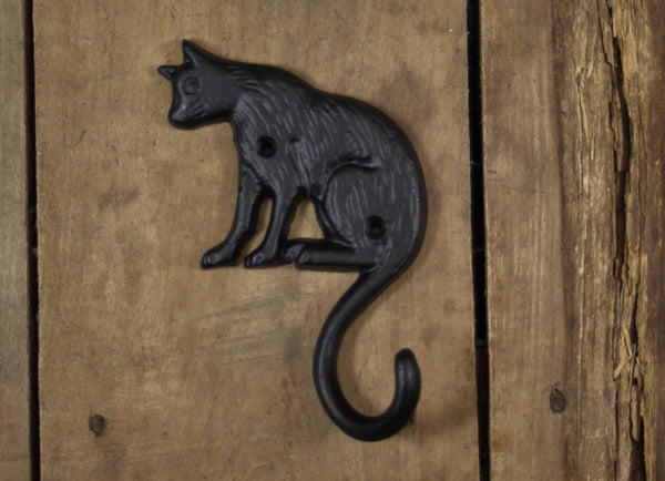 Cat Tail Coat Hook