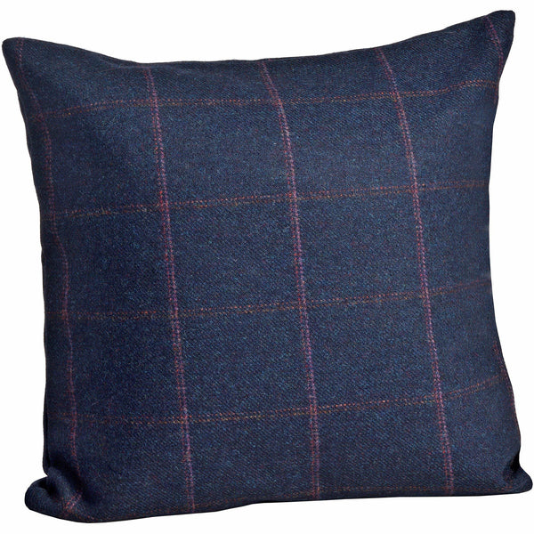The Yorkshire Collection Tweed Cushion 'Jackdaw'