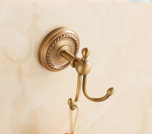 Modern Antique Brass Coat Hook