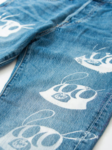 Hand Painting Denim