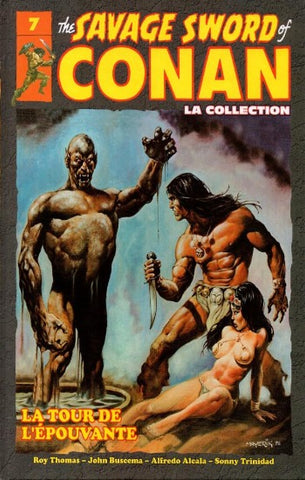 COLLECTIF: The Savage Sword of Conan Tome 7 : La tour de l'épouvante