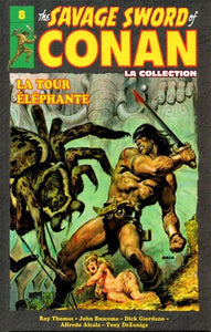 COLLECTIF: The Savage Sword of Conan Tome 8 : La tour éléphante