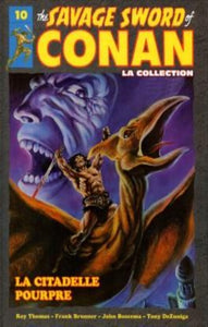 COLLECTIF : The Savage Sword of Conan Tome 10 : La citadelle pourpre