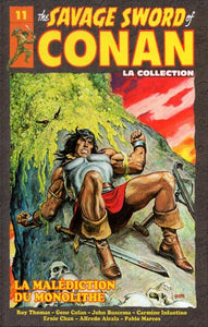 COLLECTIF: The Savage Sword of Conan Tome 11 : La malédiction du monolithe