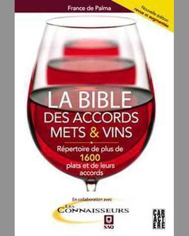 PALMA, France de: La bible des accords mets et vins