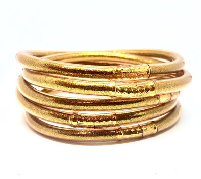Gold Stackable Bracelets