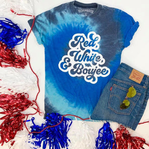 Red, White & Boujee Tee