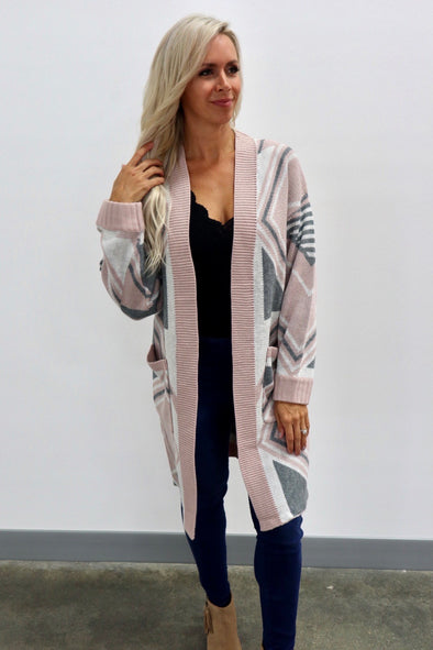 Elyse Long Cardigan