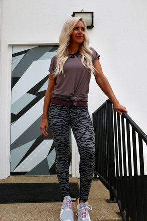 Jungle Cat High Waisted Leggings