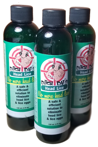 Ditch Dat Lice! Three (3)  8-oz bottles (Triple Pack)
