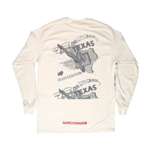 "THE BEST LITTLE ""TRAPHOUSE"" LONGSLEEVE T-SHIRT CREAM + DIGITAL ALBUM"