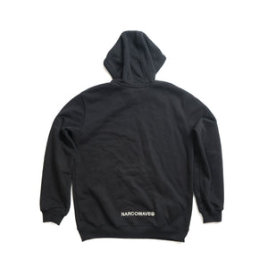 NARCOWAVE X CARHARTT - HOODED SWEATSHIRT BLACK