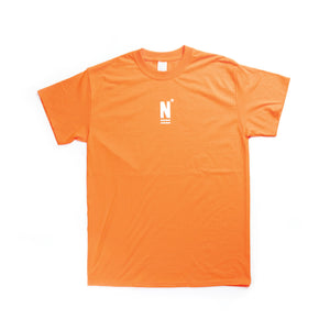 "NARCOWAVE ""N"" LOGO T-SHIRT SAFETY ORANGE"
