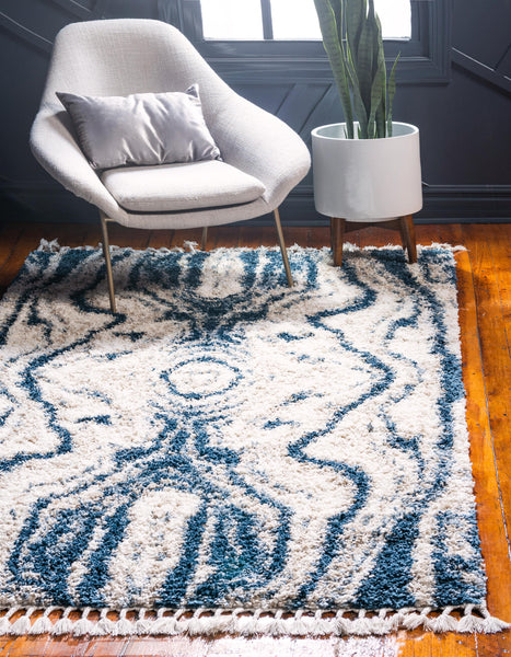 Quinten - Marble Color Mix Shaggy Rug