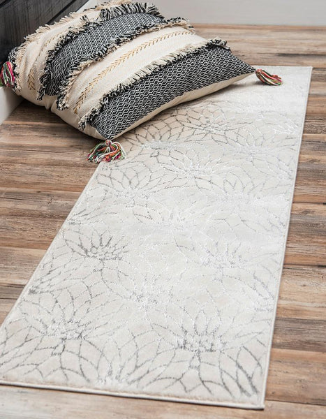 Ellison - Lotus Flower Pattern Luxury Rug