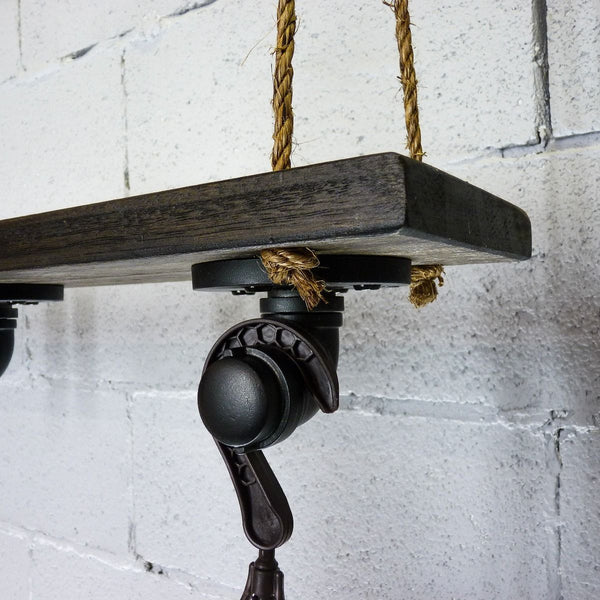 Modern Industrial Plant Holder Hanging Shelf