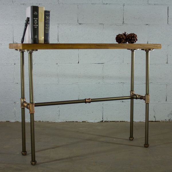 Modern Industrial Hall Table