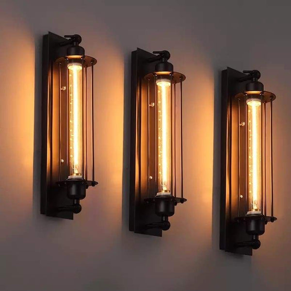 Industrial Style Vintage Bar Wall Lamp