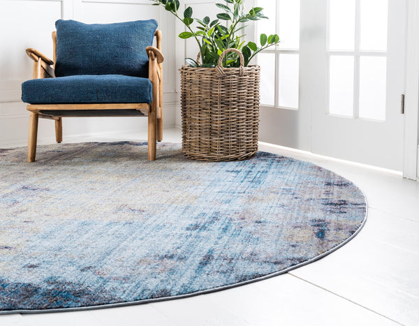 Deon - Blue Gray Area Rug