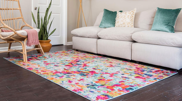 Cortez - Art Deco Multi-Color Rug