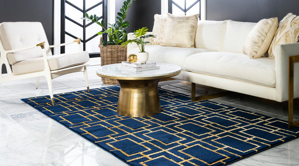 Parker - Cube Pattern Luxury Rug