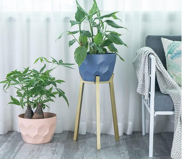 Koa - Geometric Modern Nordic Planter with Stand