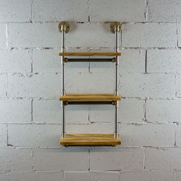 Three Tier Wall Mounted Shelves