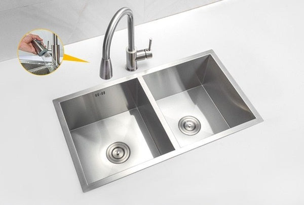 Emory - Undermount Kitchen Sink Set