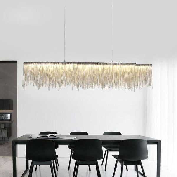 Clio - LED Raindrop Chandelier
