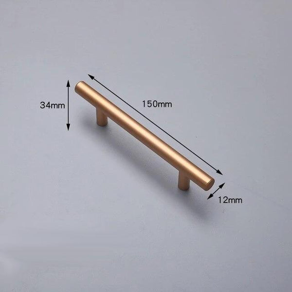 Ailsa - Modern Minimalist Gold Bar Handle