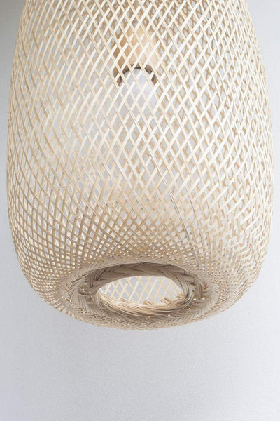 Kanya - Compressable Bamboo Pendant Light