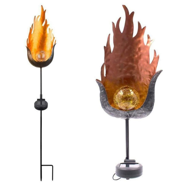LED Artificial Flame Garden Light