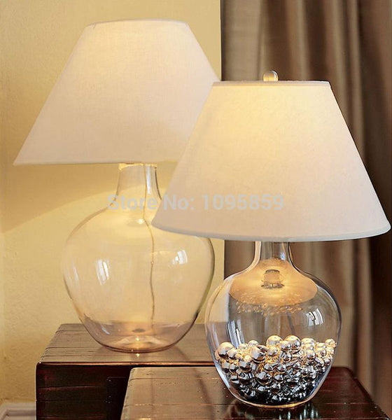 Arabella - Modern Glass Desk Lamp
