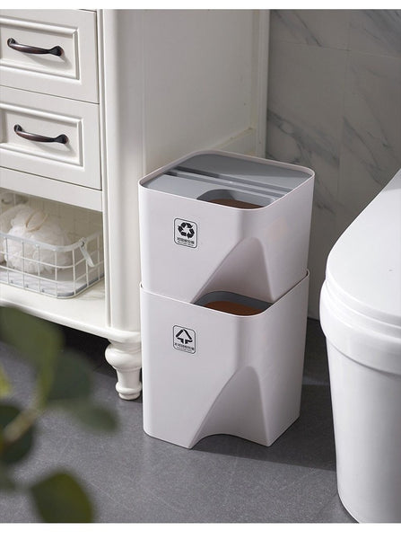 Zi - Recycle Stack-able Trash Cans