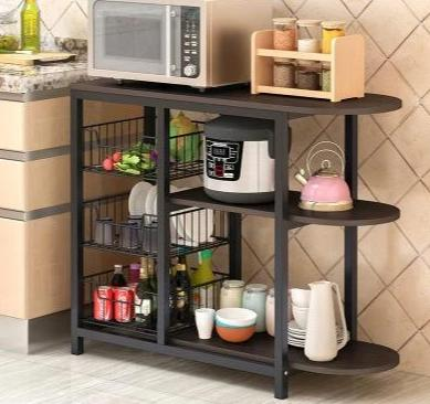 Kolton - Versatile Multilayered Storage Kitchen Shelf
