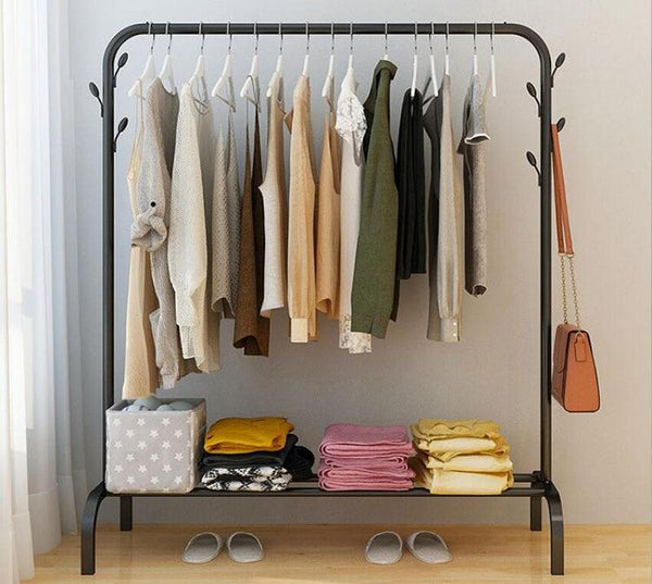 Ciara - Floor Standing Clothes Rack with Shelf