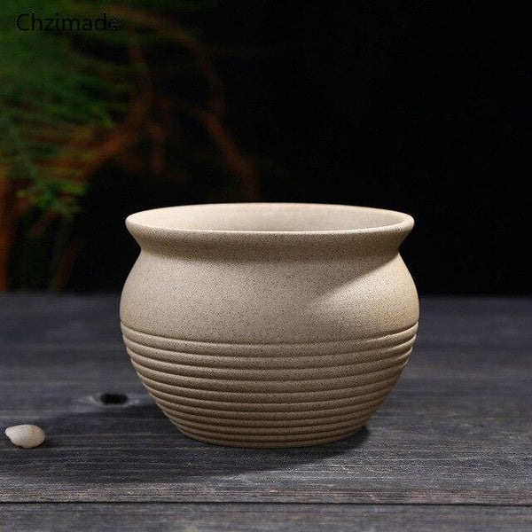 Trae - Varnished Ceramic Flower Plant Pot