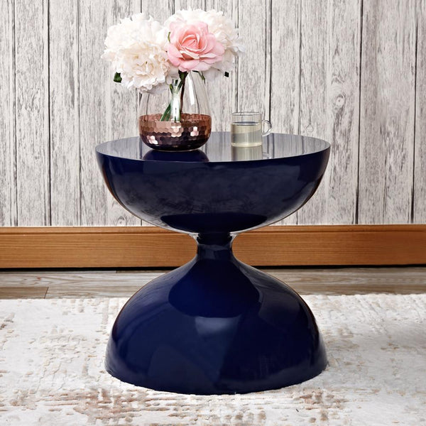 Zephyr - Modern Hourglass Accent Side Table