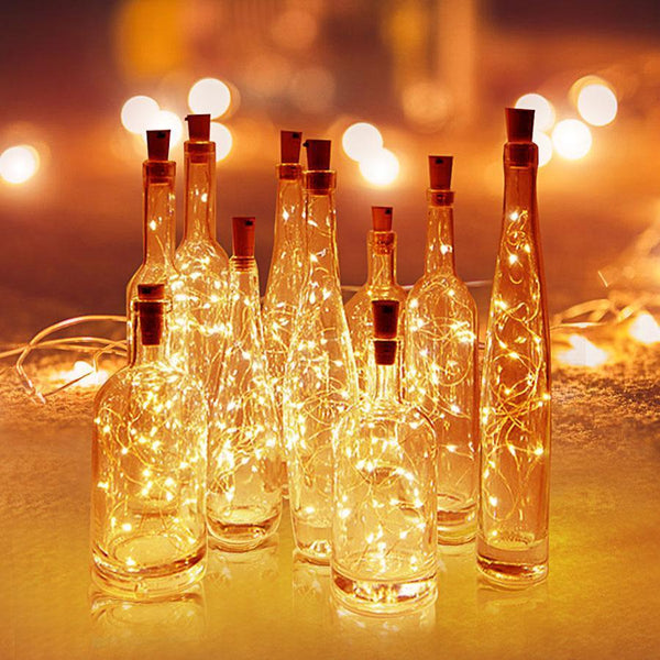 Brightly - LED Wine Bottle Fairy Lights