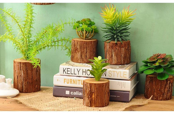 Woody - 3D Imitation Trunk Wall Planter