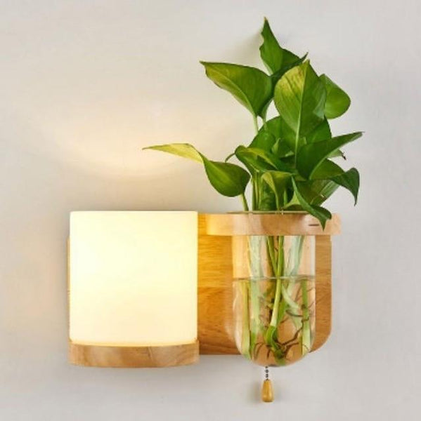 Lyla - LED Lamp Planter & Shelves Combo