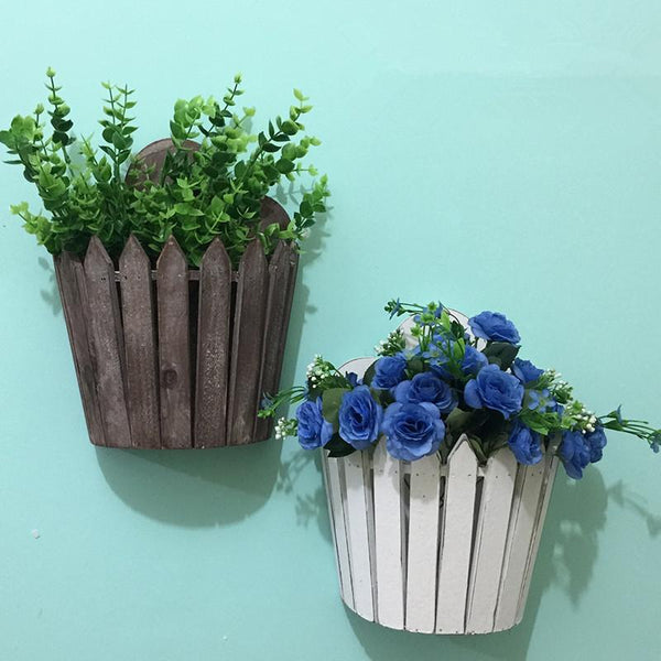 Felicity - Wooden Wall Mounted Planter