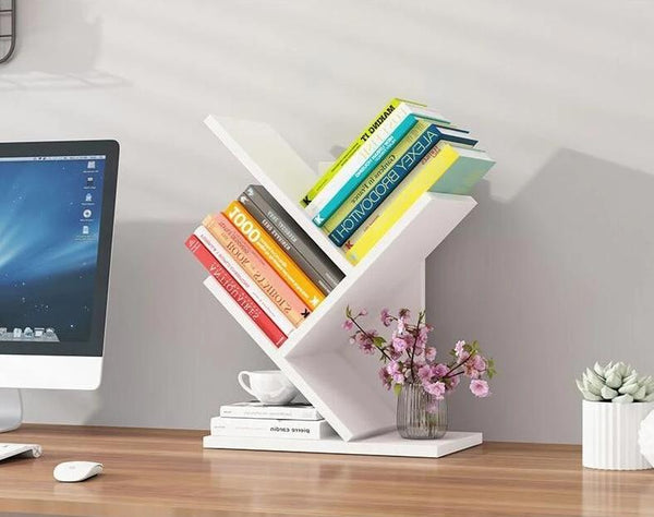 Paityn - Angled Desktop Bookcase
