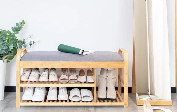 Rilynn - Shoe Rack with Bench