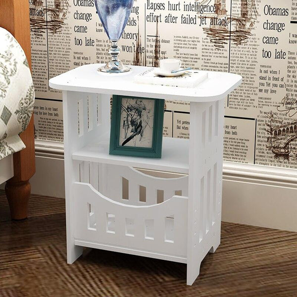 Caden - Modern Country Bedside Table