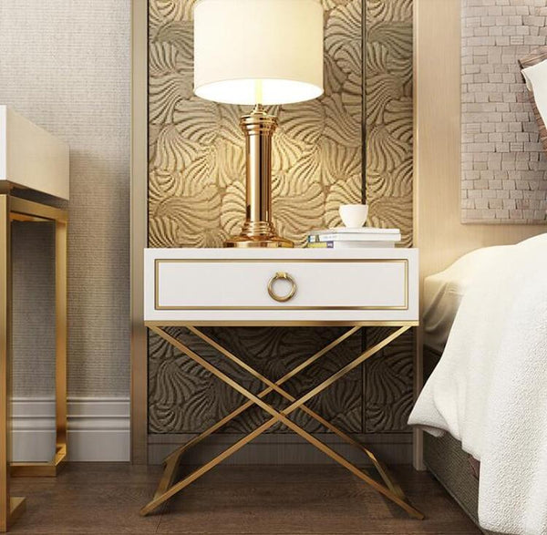 Lennox - Modern Luxury Bedside Table