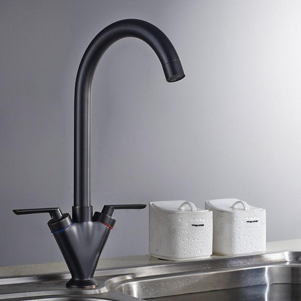 Theresa - Two Handle Rotating Kitchen Faucet