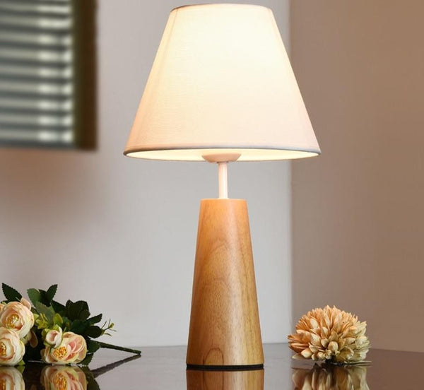 Indiana - Wooden Base Table Lamp