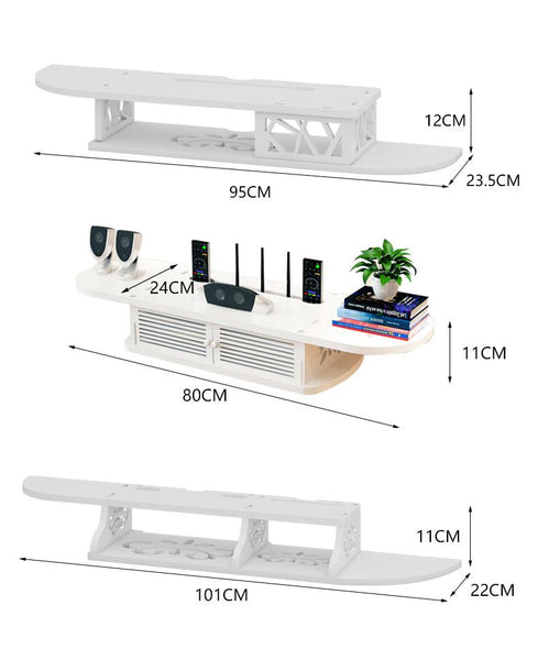 Wooden Hanging Top Wall Rack