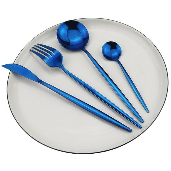 Bright Color Stainless Steel Cutlery Set
